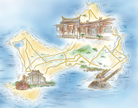 The Illustrated Map of Taiwan