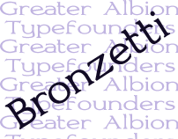 Bronzetti, A New Roman Family