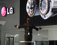 LG • Gesture Presentation at IFA Berlin