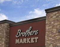 Brothers Market branding