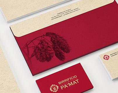 Birrificio PaMat - Branding Design
