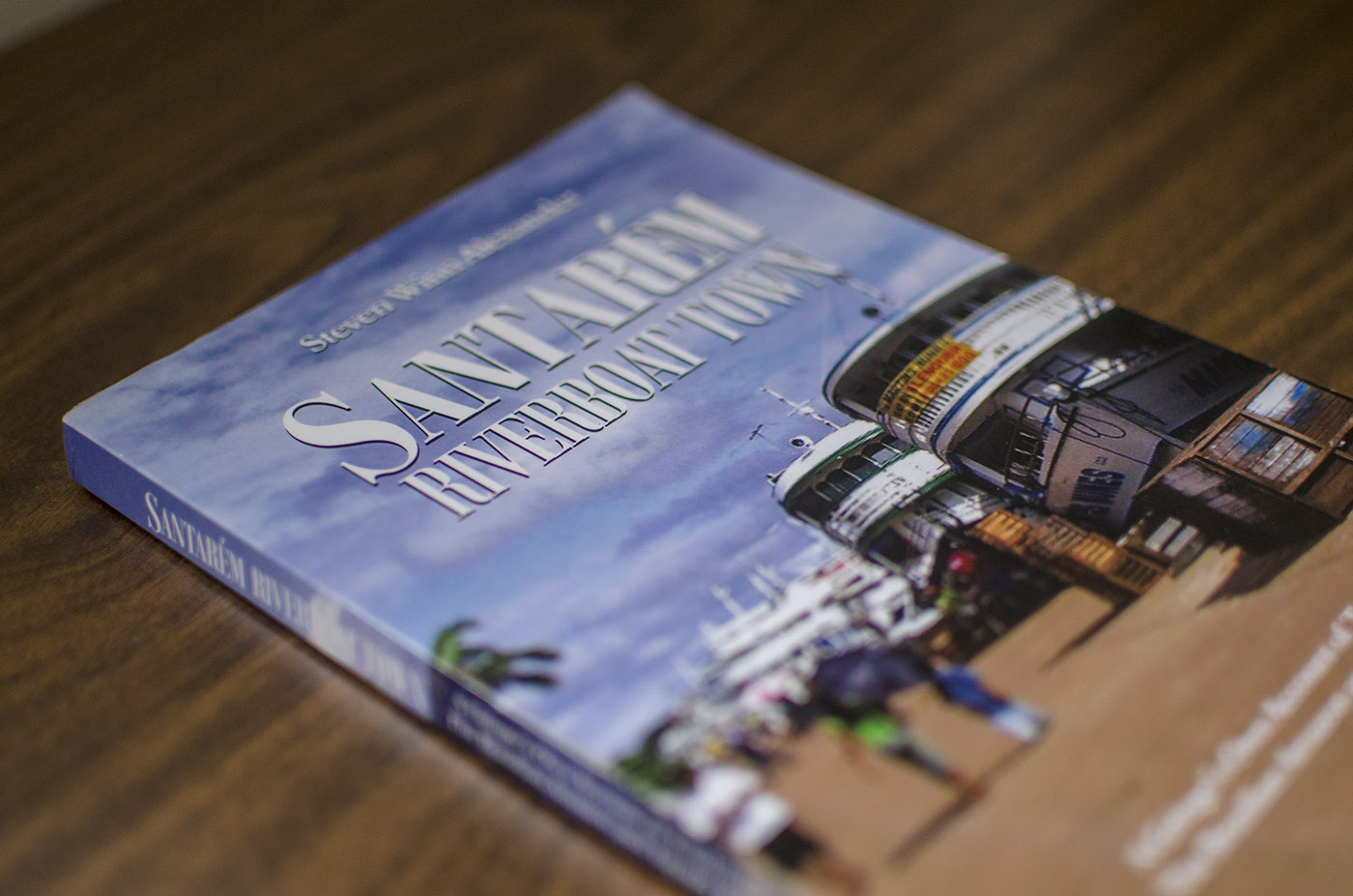 Book Cover Design - Santarém Riverboat Town