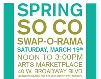 Spring SO CO Swap-O-Rama Poster