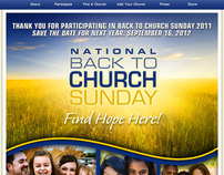 National Back To Church Sunday 2012