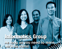 Informatics Press Ad Campaign