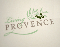 Living Provence Logo & Stationery