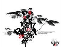Crow Calendar Design - 2008