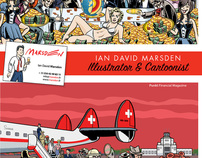 Illustration Portfolio 2011:Artist Ian David Marsden