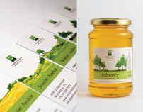 Design for Andor Sötöris Honey Farm