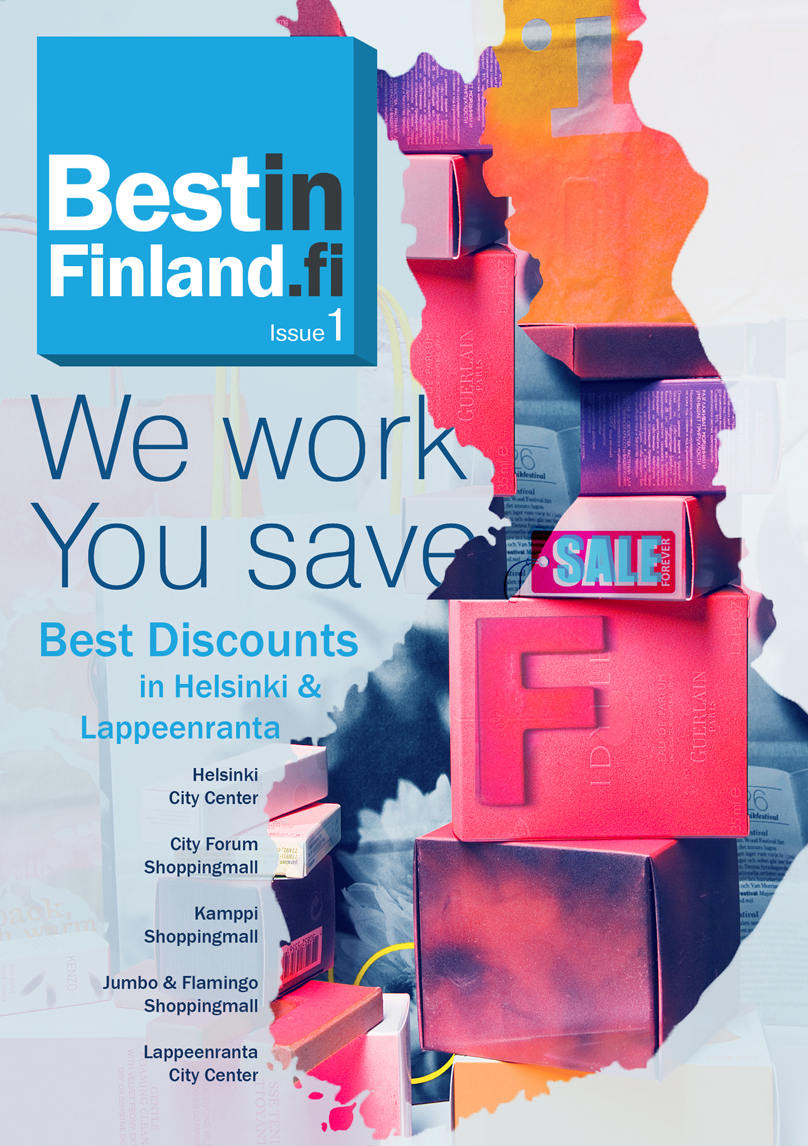 Front Cover for Finnish magazine