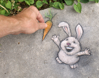 Temporary SIdewalk Art