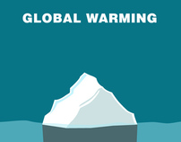 Global Warming - GOOD 50x70