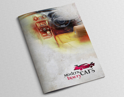 Modern Beauty Cars - Brochure Design