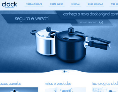 Clock Website // ARNO - Grupo SEB