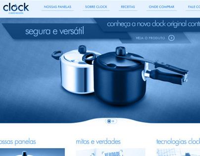 Clock Website // ARNO - Grupo SEB
