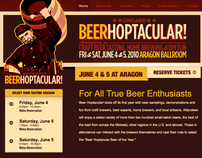 Beerhoptacular Website