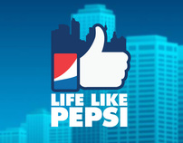 LIFE LIKE PEPSI - Facebook Game