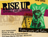 Rise Up International event design