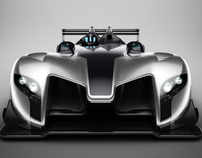 Lemans proto GT.  Creative work for 3e-oeil studio