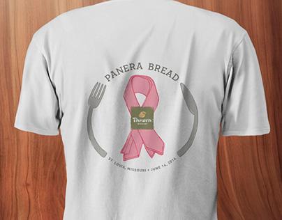 2014 Team Panera Komen Race Shirt