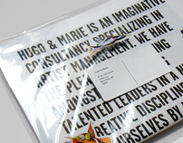 Hugo & Marie Newspaper