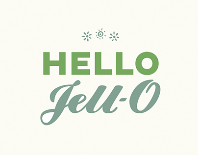 Hello Jell-O Cookbook