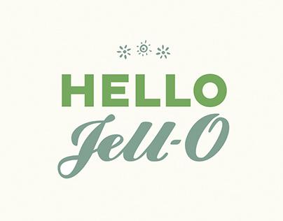 Hello Jell-O Cookbook