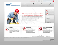 DBI microsite design for VMIA