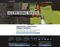 Global Research Alliance website redesign