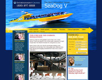 Cruise Line Website Design