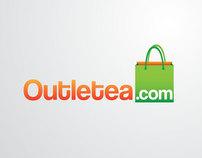 Outletea.com Identity and Web design