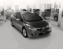 New Honda Civic 2009 - WebSite