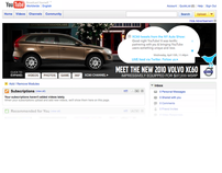 Volvo XC60 Launch: Twitter Ad on YouTube