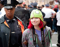 OWS: Brooklyn Bridge (Citizenside/AFP)