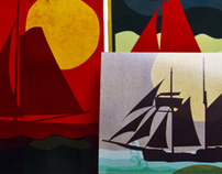 Postcards - Fish & Ships 2011