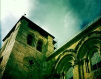 The Holy Sepulchre by i phone