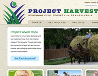 Project Harvest Hope website