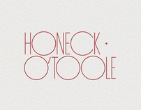 Honeck OToole Accountants Logo Concept