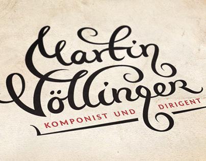 Martin Vollinger - Logo Design Process