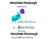 WELCOME Pittsburgh/Wallace Floral Cross-Promotion
