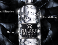 Three Sixty Vodka Website