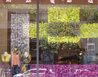 Anthropologie Visual Display Internship