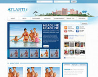 Atlantis Blog Design