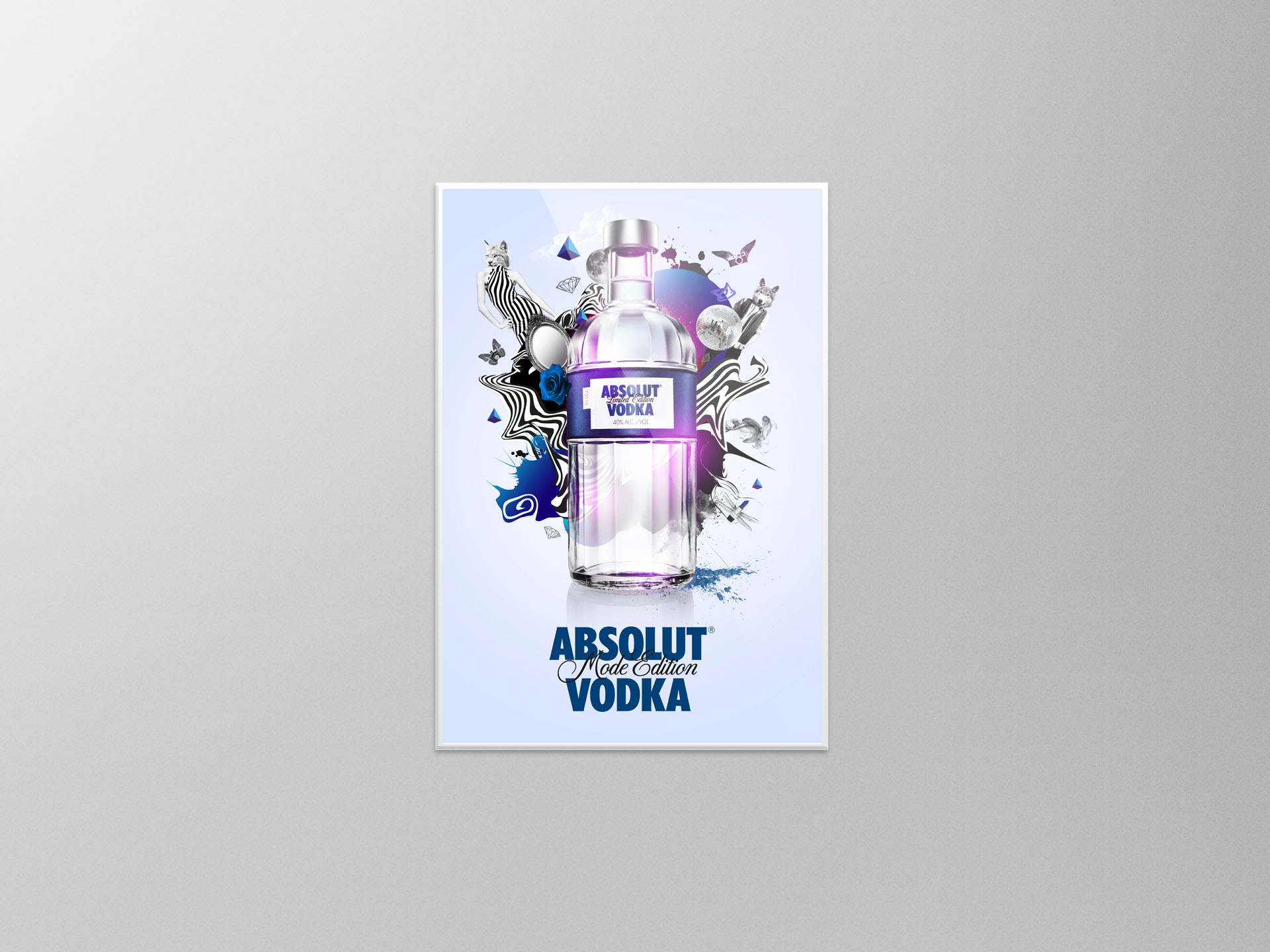 ABSOLUT® Vodka Mode Edition