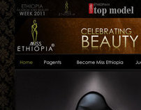 Miss Ethiopia Web Design