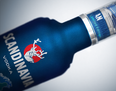 SCANDINAVIA Vodka / Limited Edition