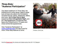 New York Philharmonic 360 Audience Participation