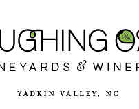 Logo Stationery Design: Laughing Oak Vineyards & Winery