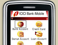 Mobile Banking Application GUI - iMobile