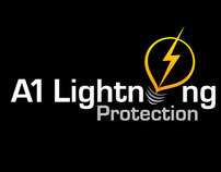 A1 Lightning Protection (logo design)
